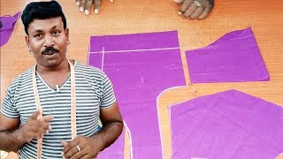 New Blouse 32 Size Cutting Explain | Tailor Bro