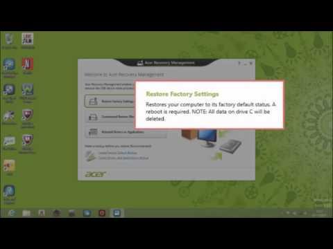 comment restaurer windows 8