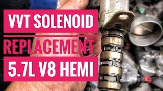 5.7L Hemi VVT Solenoid Replacement