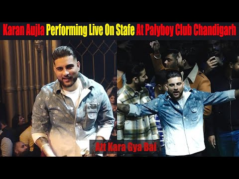 Karan Aujla Performing Live On Stage First Show In Chandigarh