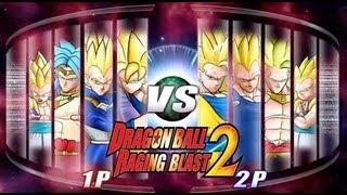 Dragon Ball Z Raging Blast 2 - Super Saiyan Vs. Super Saiyan 3 (Live Commentary)