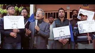 मतदाताको मन बदल्न रवीन्द्र मिश्रको प्रयास  (भिडियो)