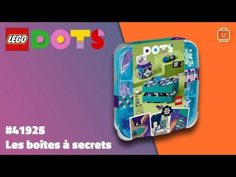 Vidéo LEGO Dots 41925 : Les Boîtes à secrets