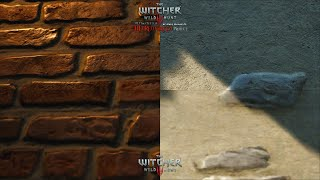 The Witcher 3 HD Reworked Project 12 Ultimate - Textures Quality Preview