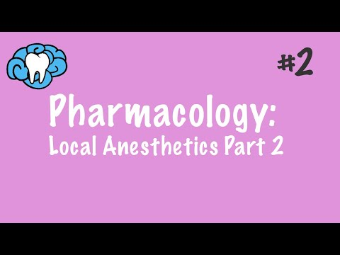 Local Anesthetics | Injections and Techniques | NBDE Part II