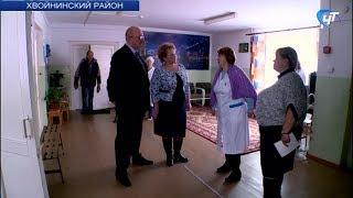 Спикер регионального парламента Елена Писарева посетила детский противотуберкулезный санаторий в Хвойнинской районе
