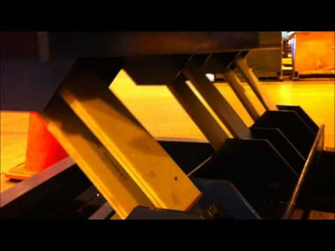 General Kinematics vibratory fiberglass slat springs