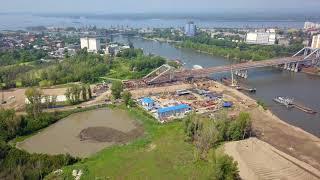 "Самара ""Фрунзенский мост"" 20 июля 2018"