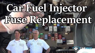 Car Fuel Injector Fuse Replacement
