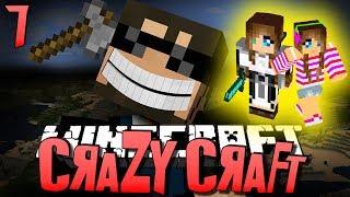 Minecraft CRAZY CRAFT 7 - LETS FIND A GIRLFRIEND(Minecraft Mod Survival)