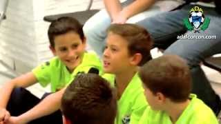 preview picture of video 'Jugadores Alcorcón y  Leganés  con benjamines.'