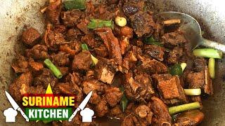 Geroosterde Doksi Eend Koken Op Zn Surinaams PART2   Live Cooking Roasted Duck On Its Sur