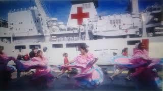 NAVIO HOSPITAL CHINÊS CHEGA NA VENEZUELA