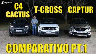 C4 Cactus x T-Cross x Captur Parte 1/2
