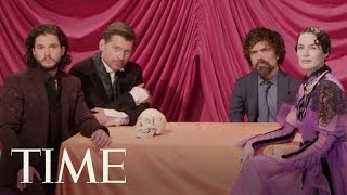Join The Game Of Thrones Cast For Family Dinner At Their Exclusive TIME Magazine Cover Shoot   TIME