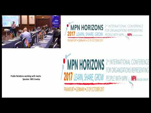 Public Relations working with media - MPN Horizons 2017