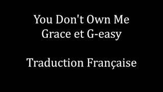 You Don't Own Me   Grace Ft G Easy Traduction Française [Suicide Squad]