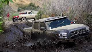 Toyota Tacoma vs Chevy Colorado! Mid-Size Shootout in Azusa Canyon OHV