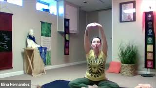 Spanish Yoga Class from One Yoga Center by Elina Hernandez