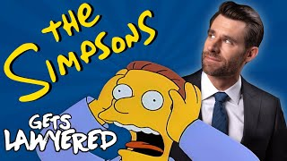 Real Lawyer Reacts to The Simpsons (Itchy & Scratchy Trial)