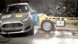New Ford Fiesta Achieves 5 Star Euro NCAP Rating