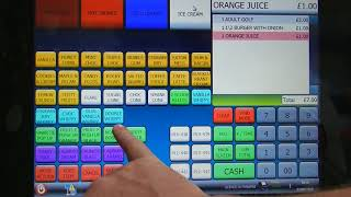 Latest Touch Screen Till System For Pub/Club/Bar/Cafe/Restaurant Replaces Sam4S SPS2200