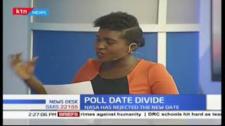 Poll date divide: NASA rejects the new date
