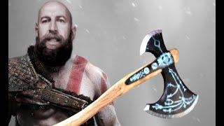 God Of War 4 Fejsze DIY Fából