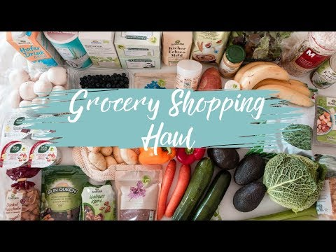 GROCERY SHOPPING HAUL | Come Grocery Shopping with me at MIGROS (Switzerland) | Healthy & Vegan