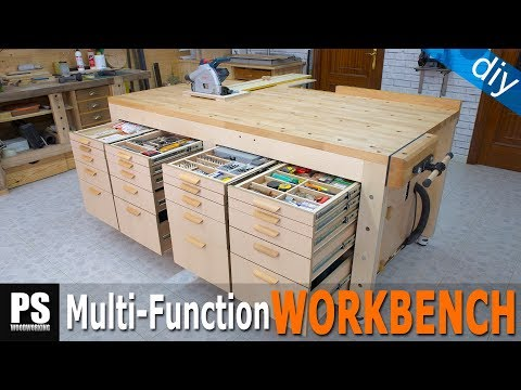 High Capacity Multi Function Workbench Build / Part 4