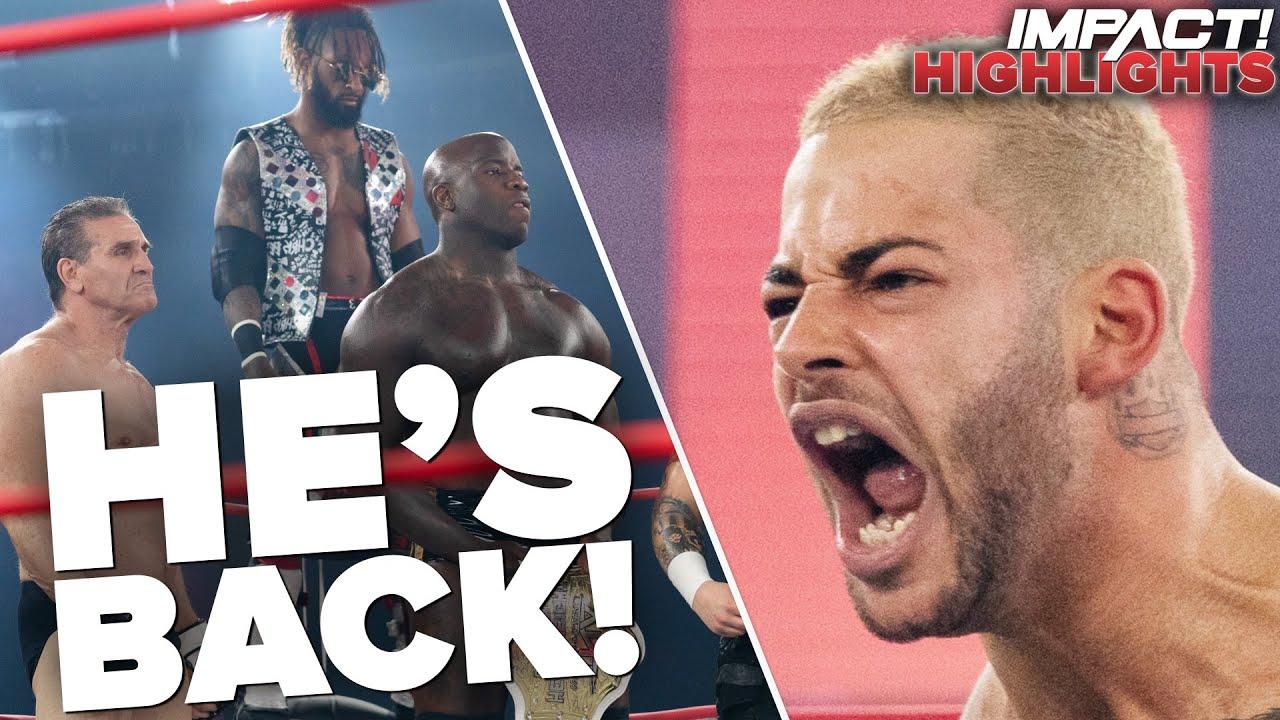 Former X-Divison Contender Returns To Impact Wrestling