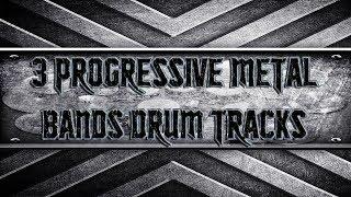 3 Progressive Metal Bands Drum Tracks (HQ,HD)