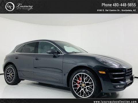 Pre Owned 2017 Porsche Macan Turbo Awd