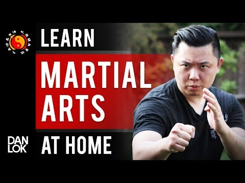 How You Can Learn Martial Arts At Home By Yourself - YouTube