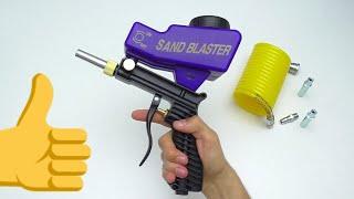 ПРОВЕРЯЕМ ПЕСКОСТРУЙ С ALIEXPRESS Sandblaster Gun LEMATEC