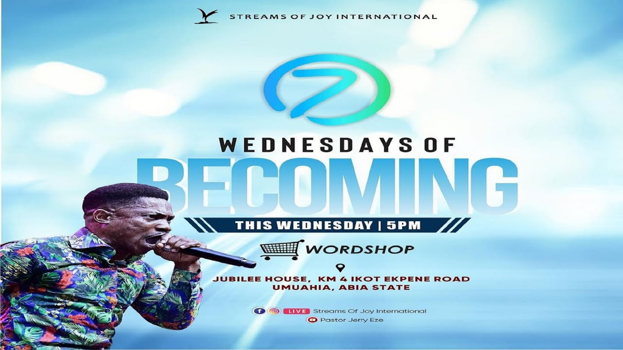 Wednesday of Becoming 10th March 2021 [WORDSHOP] with Pastor Jerry Eze