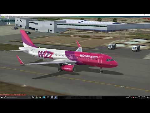 FSX: SE | Wizzair | Aerosoft A320 | Bristol-Warsaw - смотреть онлайн