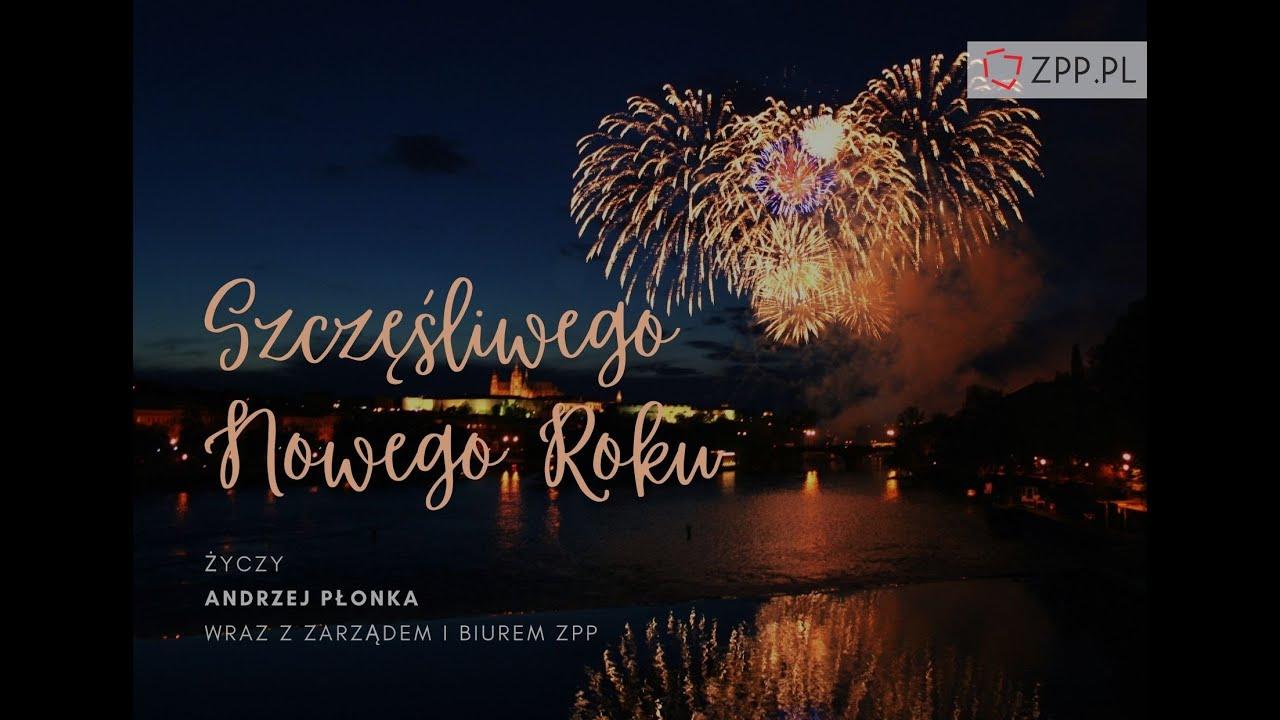 Szczęśliwego Nowego Roku - życzenia od Prezesa ZPP Andrzeja Płonki
