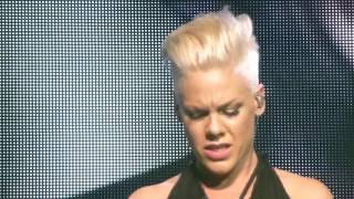 P!NK   PINK & Nate Ruess   Just Give Me A Reason   Live At The O2 In London   Sunday 28th April 2013