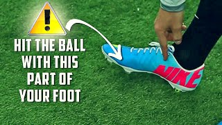 How To Shoot a Free Kick in a Match - Pro Curve Tutorial