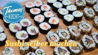 Sushi selber machen - den perfekten Reis kochen / Maki und California Roll / Thomas kocht