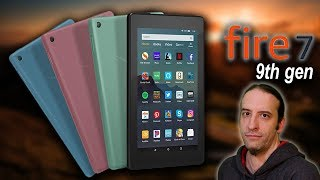 The New Fire 7 Tablet from Amazon 2019