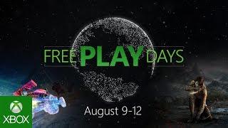 Free Play Days 9-12 agosto