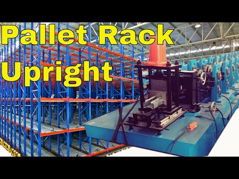 ▶ pallet rack systems | storage rack roll forming machine | pallet racking installation ◀