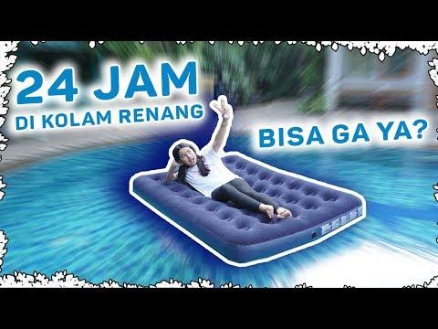24 JAM DI KOLAM RENANG? HUAAAA!!
