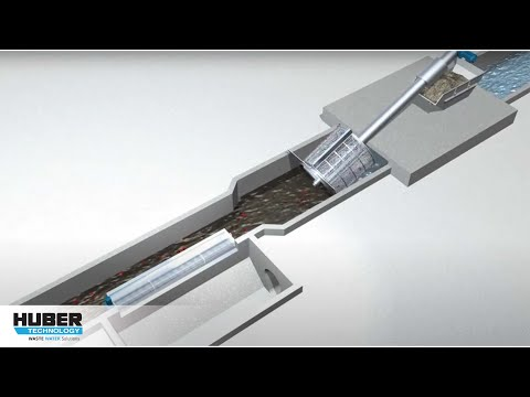 Animation: Screening for high water flows with HUBER screens - animation