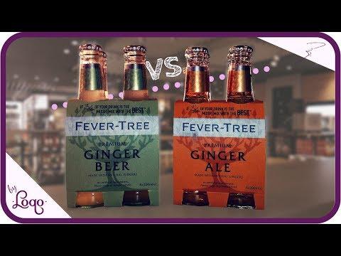 Ginger Ale Vs Ginger Beer - Qué es la diferencia?