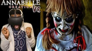 ANNABELLE IS A DEMON | Annabelle: Creation VR - Bee's Room Oculus Rift REACTION