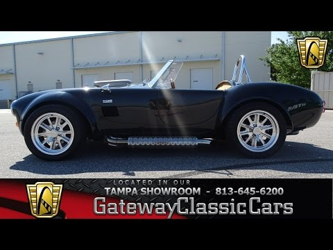 Video of 1966 AC Cobra located in Florida - $43,995.00 Offered by Gateway Classic Cars - Tampa - KOOE