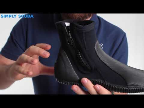 Seac 5mm Zippered Boot – www.simplyscuba.com